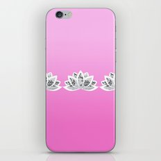 fuchsia lotus iPhone & iPod Skin