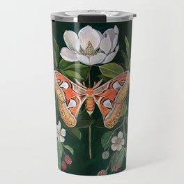 Atlas Moth Magnolia Travel Mug