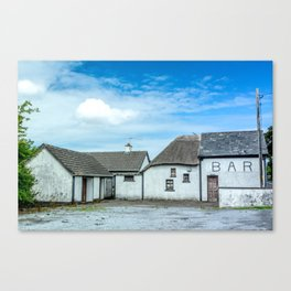 The Irish Bar Canvas Print