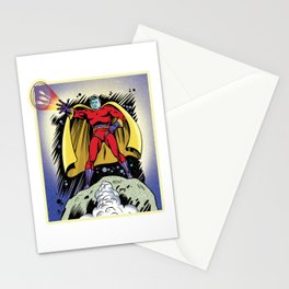 Star Man from Planet Nexus Stationery Cards