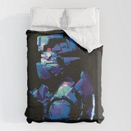 Dead Space: Splatter Isaac Duvet Cover