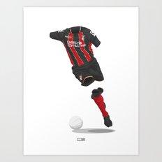 AFC Bournemouth 2014/15 - Championship Champions Art Print