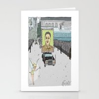 "korea Stationery Cards featuring ""Magic Kingdom"" (North Korea) by correia creative"