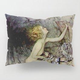 """Pandora Opens the Box"" by Arthur Rackham Pillow Sham"