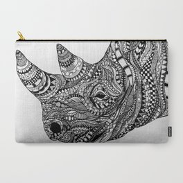 Black Rhinoceros Carry-All Pouch