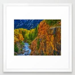 Colorado River #2 Framed Art Print