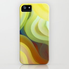 Colorful Curves iPhone Case