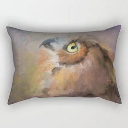 I Wonder Rectangular Pillow
