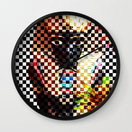 Punk Pharoah Tutenrocken Wall Clock