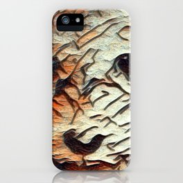 Copper the Havapookie Art iPhone Case