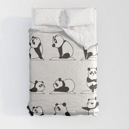 Panda Yoga Comforters