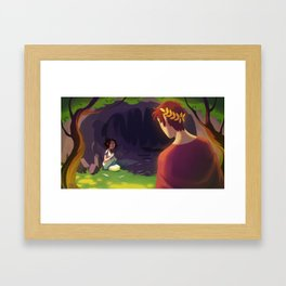 The Wild Swans - The Cave Framed Art Print