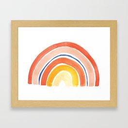 Desert Rainbow Framed Art Print