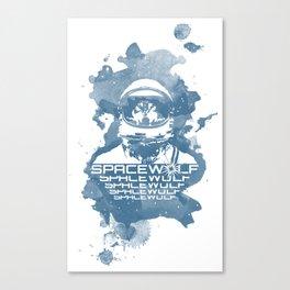 Spacewolf Canvas Print