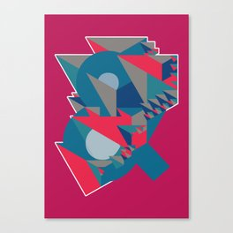 Ampersand Lost in Pyramids Canvas Print