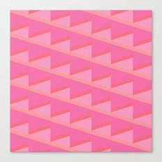 Pink Ascent Canvas Print