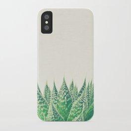 Lace Aloe iPhone Case