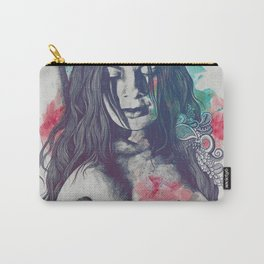 Paint a Vulgar Picture rtq | female nude erotic portrait Carry-All Pouch