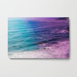 Bohemian Ocean Metal Print