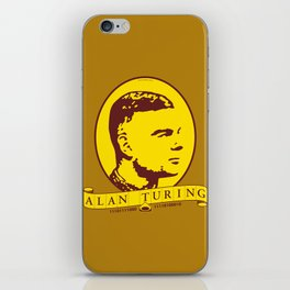 Alan Turing iPhone Skin