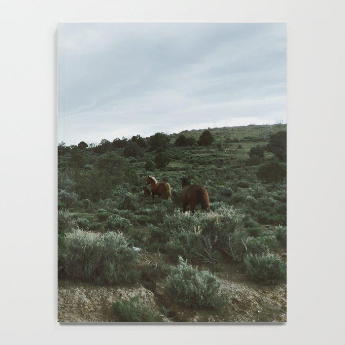 Nevada Horses Notebook