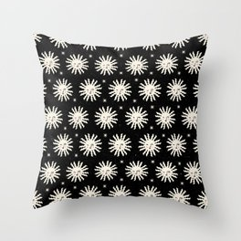 Sunshine in Space Throw Pillow