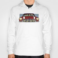 cargline Hoodies featuring Road Trip by cargline