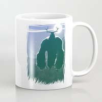 yeti Mugs featuring Yeti by Megalomatthew