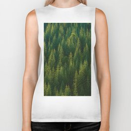The Green Forest (Color) Biker Tank