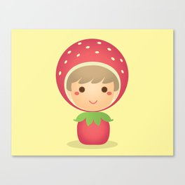 The Strawberry Boy Canvas Print