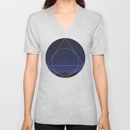 Magical Universe - Geometric Photographic Unisex V-Neck