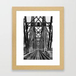 Long Biên Bridge Framed Art Print