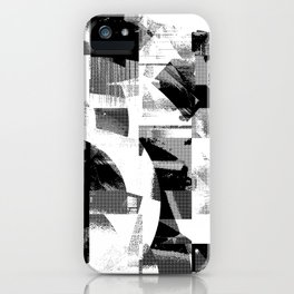 Circle Glitch iPhone Case