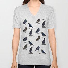 Starlings Unisex V-Neck
