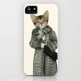 Kitten Dressed as Cat iPhone Case