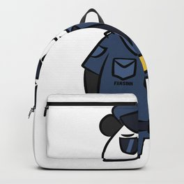 Police security panda bear cartoon children gift Backpack
