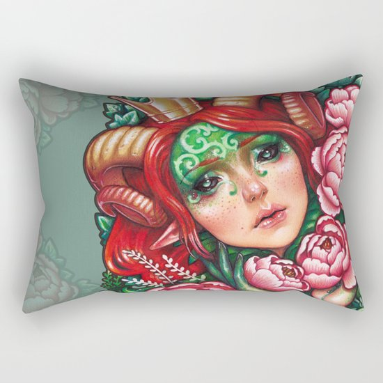 Titania Stigmata Rectangular Pillow