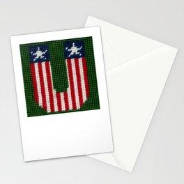 Needlepoint U Stationery Cards