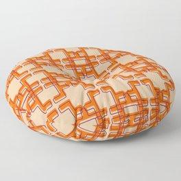 Afo Mid Century Modern Pattern Floor Pillow