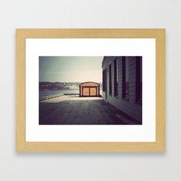 Lemon Interupt  Framed Art Print