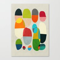 pills Canvas Prints featuring Jagged little pills by Picomodi