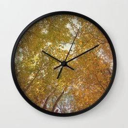 Falling for Fall Wall Clock