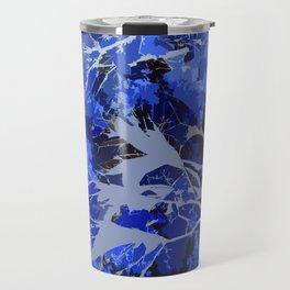 Blue Veins Travel Mug