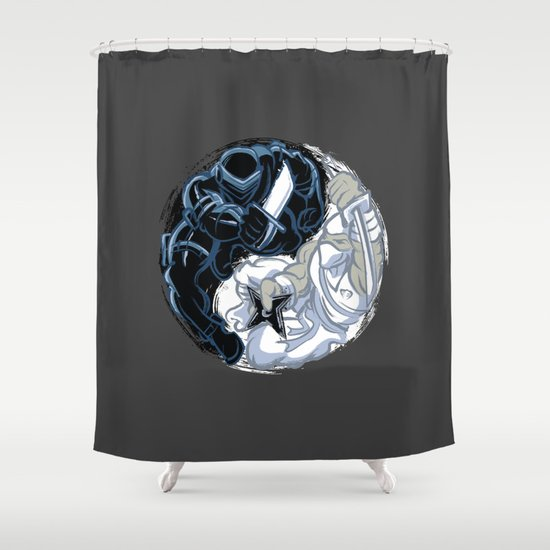 Snake Eyes/Storm Shadow  Shower Curtain