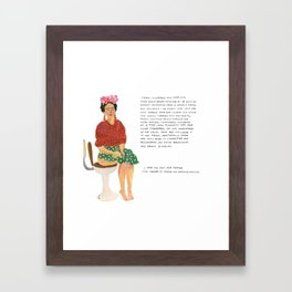 Frida Khalo Framed Art Print