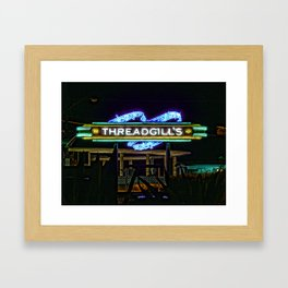 Threadgills ~ Austin, Texas Framed Art Print
