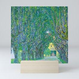 Gustav Klimt Schloss Kammer Park Mini Art Print