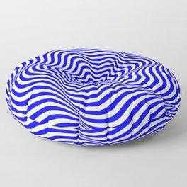 Op art Floor Pillow