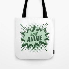 I Love Anime (2) Tote Bag