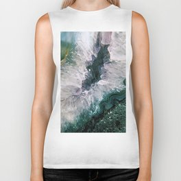 Amethyst Abstract Biker Tank